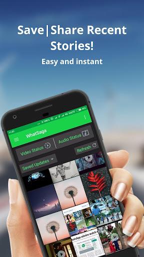 WhatSaga   Longer Stories   Save Status screenshot 8