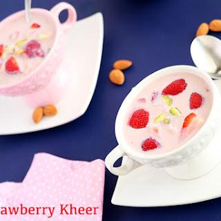 Strawberry Kheer