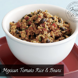 Mexican Tomato Rice & Beans