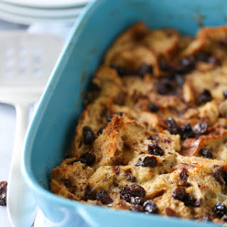 Cinnamon Raisin Breakfast Casserole.