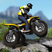 Mountain Moto- Stunt Bike Racing Game MOD APK 1.0.1 (Unlimited Money)