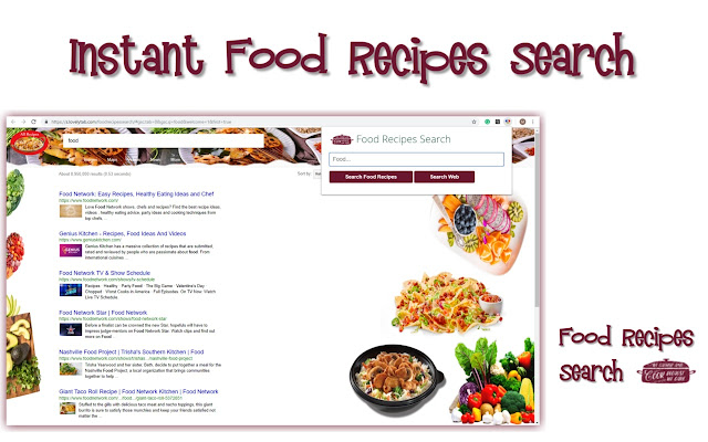 Food Recipes Search