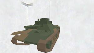 Medium tank's body