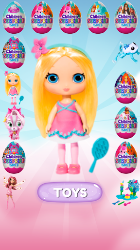 Surprise Eggs: Free Game for Girls 2.5 screenshots 1