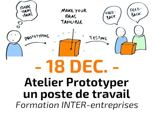 Atelier pratique : Prototyper un poste de travailFormation Inter-entreprises