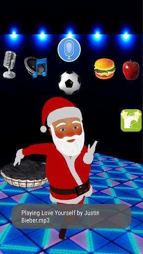 Talking Santa Claus 1.3 screenshots 3