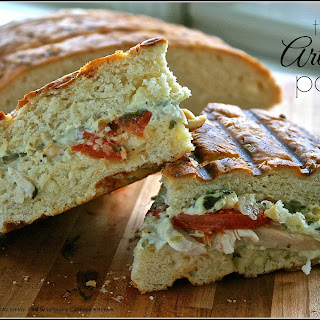 Turkey Artichoke Panini (Even better than Panera's!)