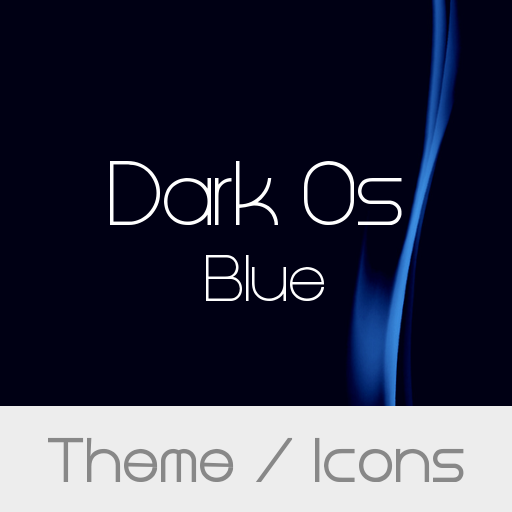 Dark Os Blue Theme