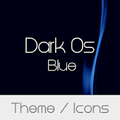 Dark Os Blue Theme