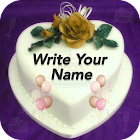 Name On Birthday Cake icon