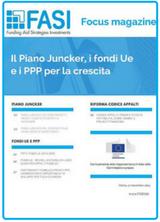Il Piano Juncker, i fondi Ue e i PPP per la crescita