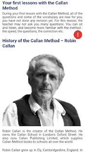 Callan Method - náhled