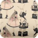 Alice in wonderland wallpaper icon