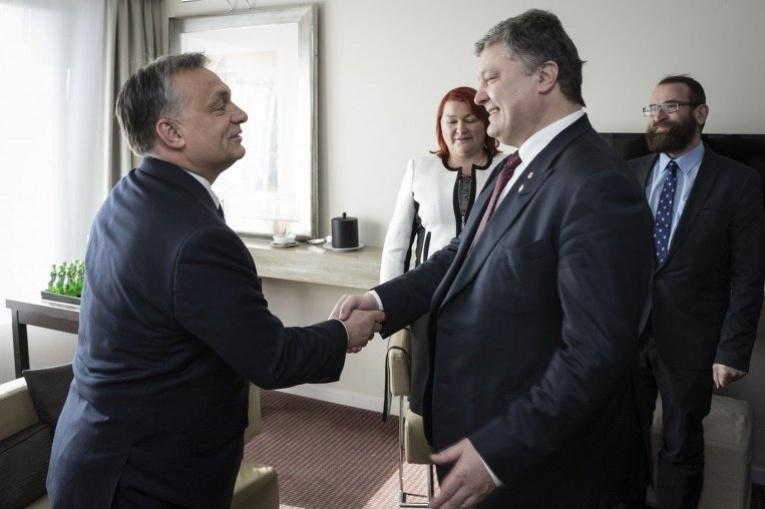 Віктор Орбан та Петро Порошенко