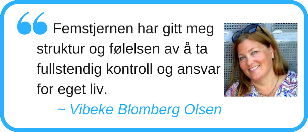 Femstjernen, Trine Åldstedt, MetaResource, NLP