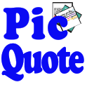 Inspirational Pic Quote Free icon