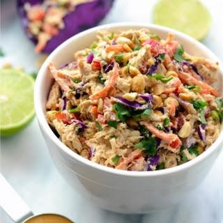 Thai Peanut Chicken Salad Recipe