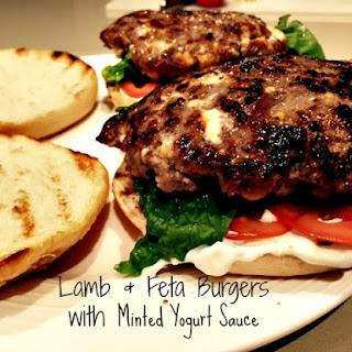 Lamb & Feta Burgers