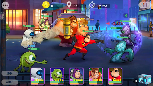Disney Heroes: Battle Mode screenshots 19