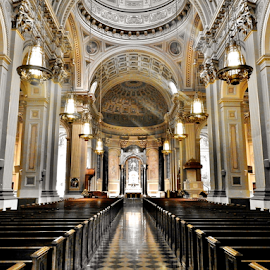 A Pope's Prayer by Gary Ambessi - Buildings & Architecture Places of Worship