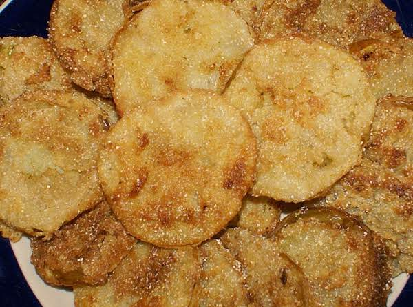 Mom's Fried Green Tomatos Recipe
