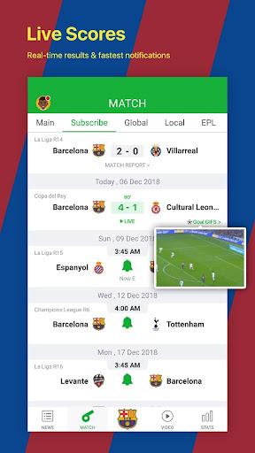 All Football - Barcelona News & Live Scores 3.1.6 BL Screenshots 3