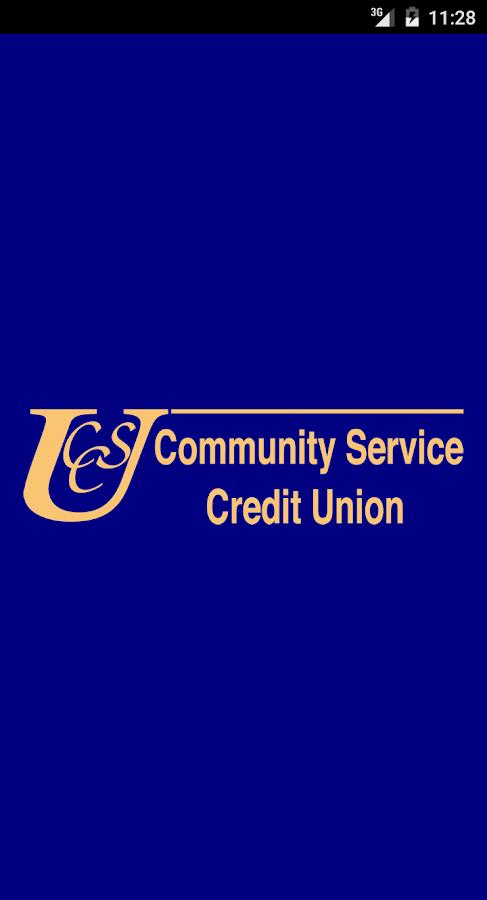 community service credit union app