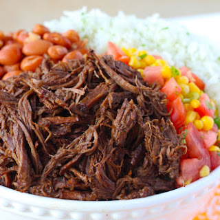 Spicy Chipotle Shredded Beef Barbacoa.