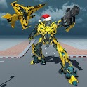 Air Robot Plane Transformation Game 2018 icon
