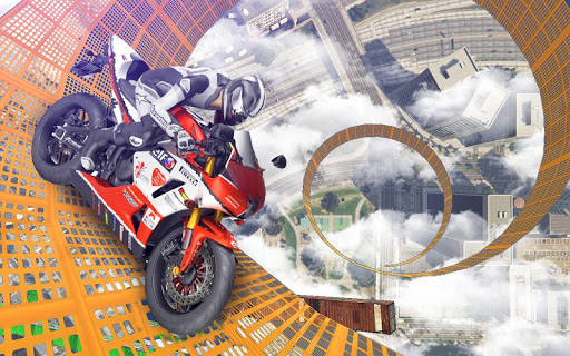 Bike Impossible Tracks Race: 3D Motorcycle Stunts 2.0.5 19