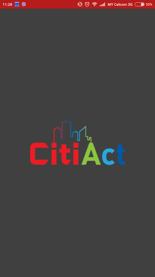 CitiAct - Smart City Solution- screenshot