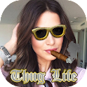 Thug Life Photo Maker Girl Fun icon