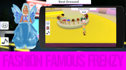 Mod Fashion Famous Frenzy Dress Up Robloxe - screenshot