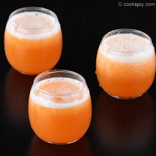 Cantaloupe Juice Recipes.