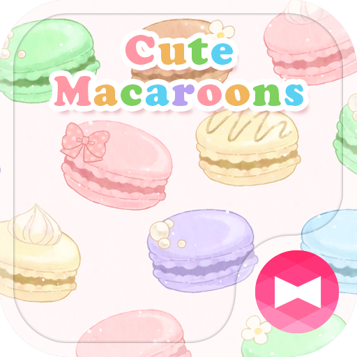 Sweets Wallpaper Cute Macaroons Theme Icon
