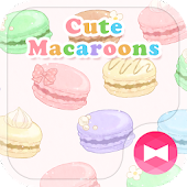 Sweets Wallpaper Cute Macaroons Theme