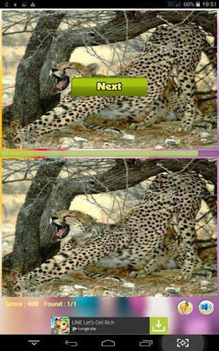 Find Differences Speed Cheetah