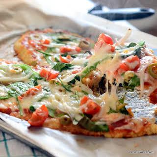 QUINOA CRUST PIZZA.