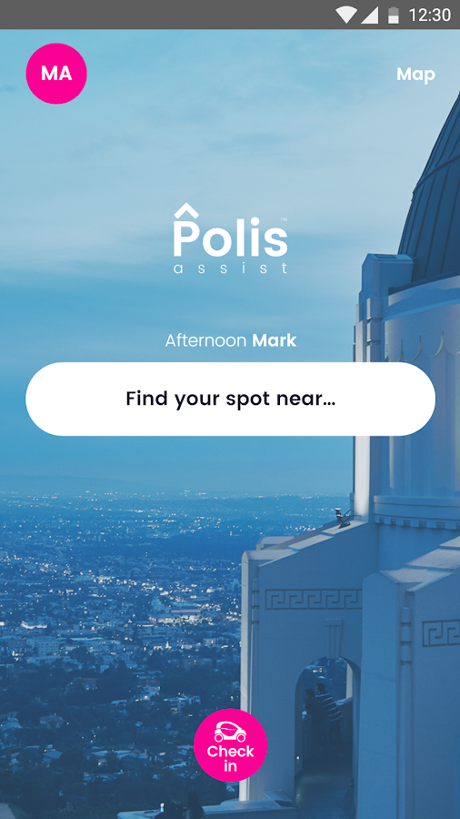Polis Assist - Find Parking- screenshot