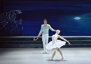 Photo: Ballett SCHWANENSEE in der Wiener Staatsoper/ Wiener Staatsballett. Olga Esina und Vladimir Shishnov. Premiere 16. März 2014. Foto: Barbara Zeininger.