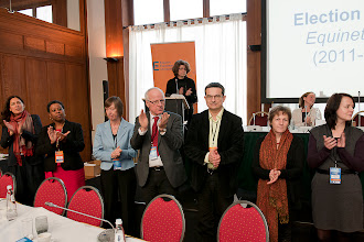 Photo: The newly elected Equinet Executive Board (for the period 2011-2013)