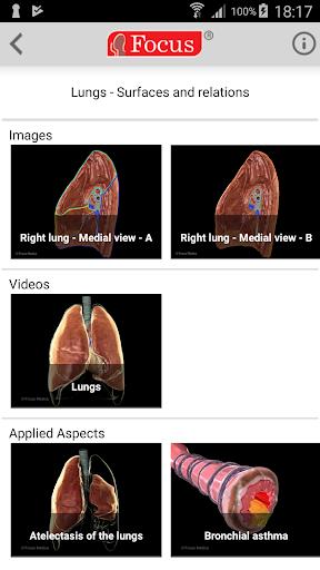 Lungs - Digital Anatomy Atlas screenshots 3