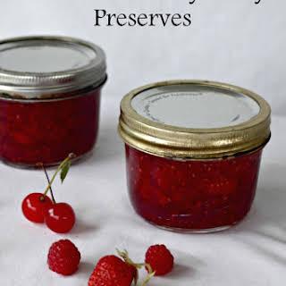 Brandied Cherry Berry Preserves.