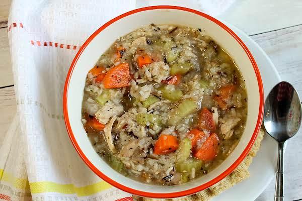 Turkey Stew In A Bowl.