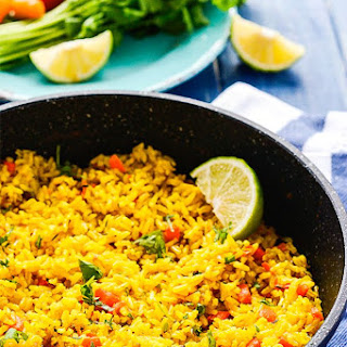 Turmeric Coconut Rice.
