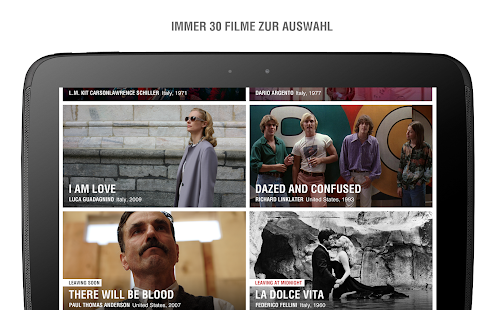 MUBI — Curated Cinema Screenshot