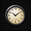Leeks Gold Black 아날로그 시계 위젯 icon