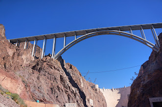 Photo: The center arch of the bridge. (We will walk over this bridge later that day.)