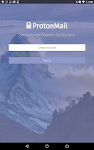 screenshot of ProtonMail - Encrypted Email