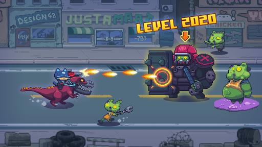 Cat Gunner: Super Zombie Shooter Pixel filehippodl screenshot 1